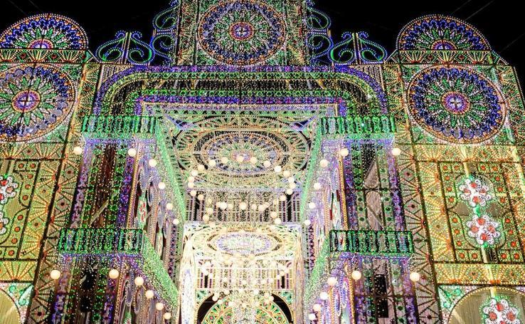 Fotos del Festival de luces Bella Skyway en Polonia