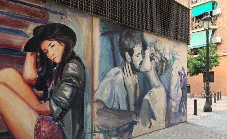 Fotos de la calle Moret en Valencia