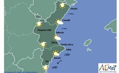 El tiempo en Valencia, Alicante y Castellón   El fin de semana trae lluvias y podría granizar