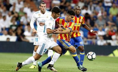 El Valencia CF logra un trabajado empate en el Bernabéu