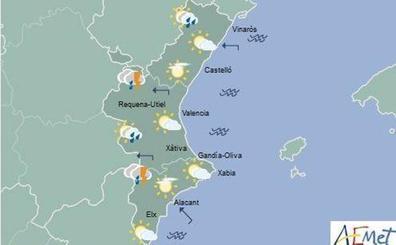 El tiempo en Valencia, Alicante y Castellón   La Comunitat Valenciana en alerta amarilla por fuertes lluvias
