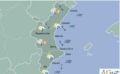 El tiempo en Valencia, Alicante y Castellón   ¿Hasta cuándo seguirá lloviendo?