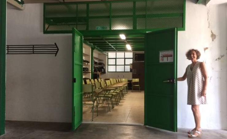 Fotos del estado del colegio de La Font d'En Carrós