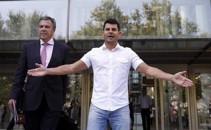 Fotos del juicio por paternidad del hijo de Julio Iglesias