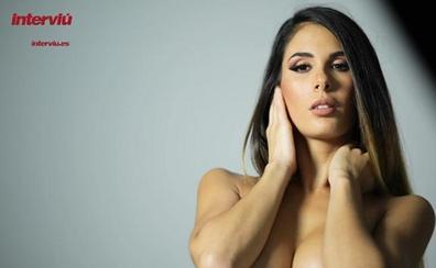 Lara Ruiz, portada de Interviú del lunes 11 de septiembre