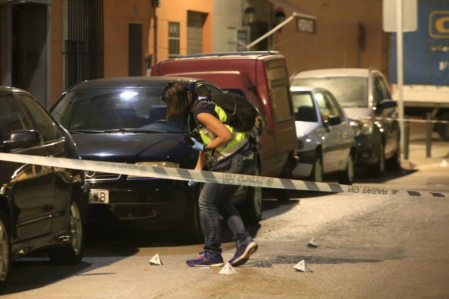 Fotos del tiroteo en Xirivella