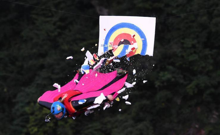 Fotos de la competición de hombre diana