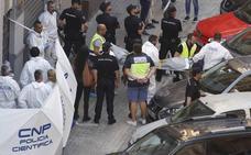 Mata a puñaladas a un policía en Valencia cuando lo identificaban por el crimen de la maleta