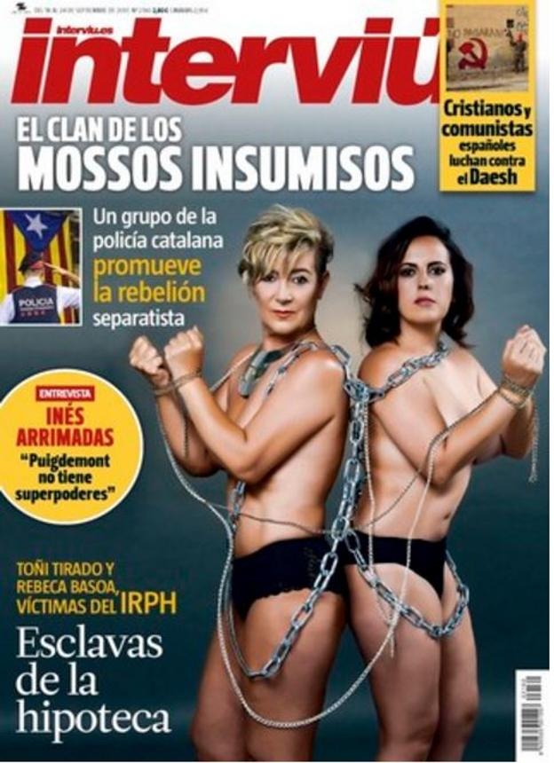 Un Desnudo Contra Los Abusos Bancarios En Interviú Las Provincias