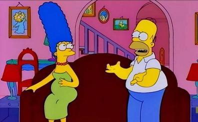 Solución   Descubre el error en esta secuencia de Los Simpsons