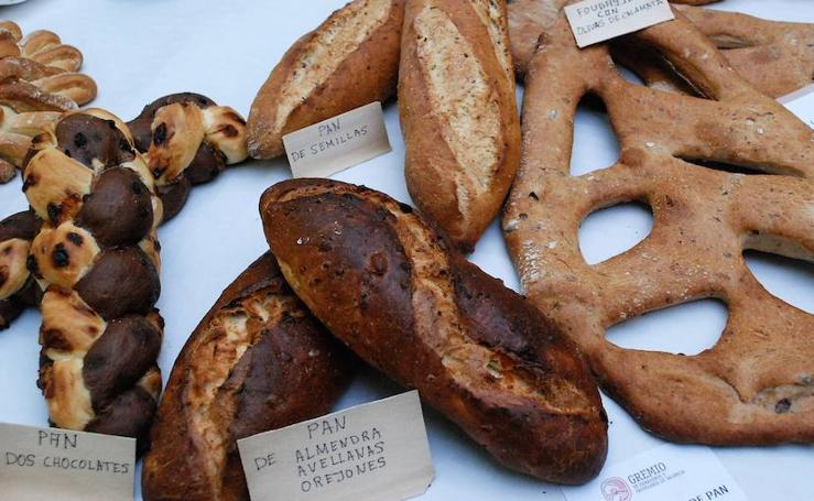Fotos de los ganadores del Concurso de panes tradicionales y panes de formato libre