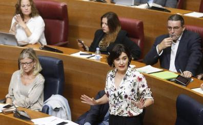 El PP amenaza con llevar a los tribunales a dos conselleras por imputarles delitos durante la sesión de control a Ximo Puig