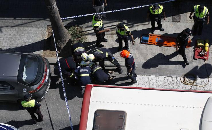Fotos del atropello mortal en Valencia