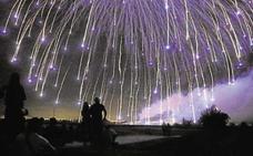 El castillo de fuegos artificiales del 8 de octubre dibujará dos Senyeras en el cielo de Valencia