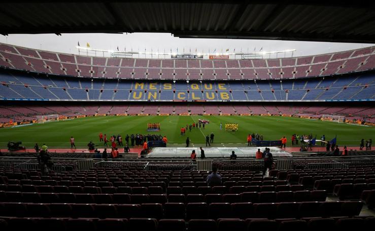 Barcelona-Las Palmas, en imágenes