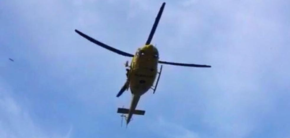 Un chaval de 12 años herido en Dénia tras precipitarse de una altura de 15 metros cuando se dirigía a la Cova Tallada