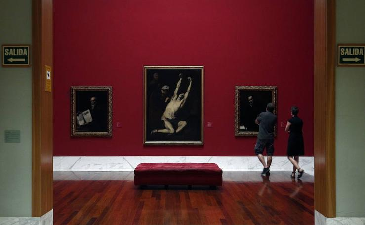Obras de Velázquez y Goya en el Museo de Bellas Artes