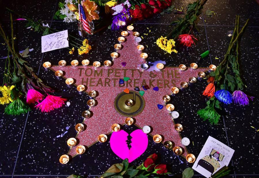 Fotos de la despedida a Tom Petty después de su fallecimiento