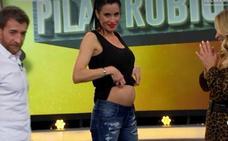 Pilar Rubio desvela el sexo del bebé en 'El Hormiguero'
