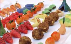 Receta de las frutitas y mazapanes de Sant Donís