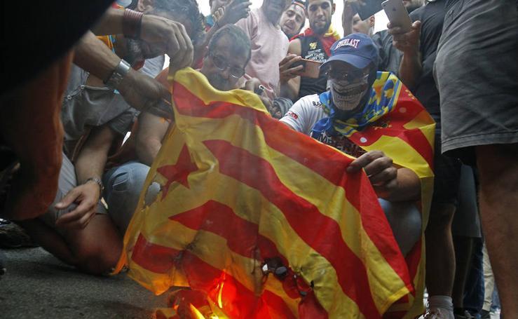 Fotos de la manifestación a favor de la lengua en Valencia