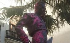 Admitida a trámite la querella por atacar la estatua de Enrique Ponce en Chiva