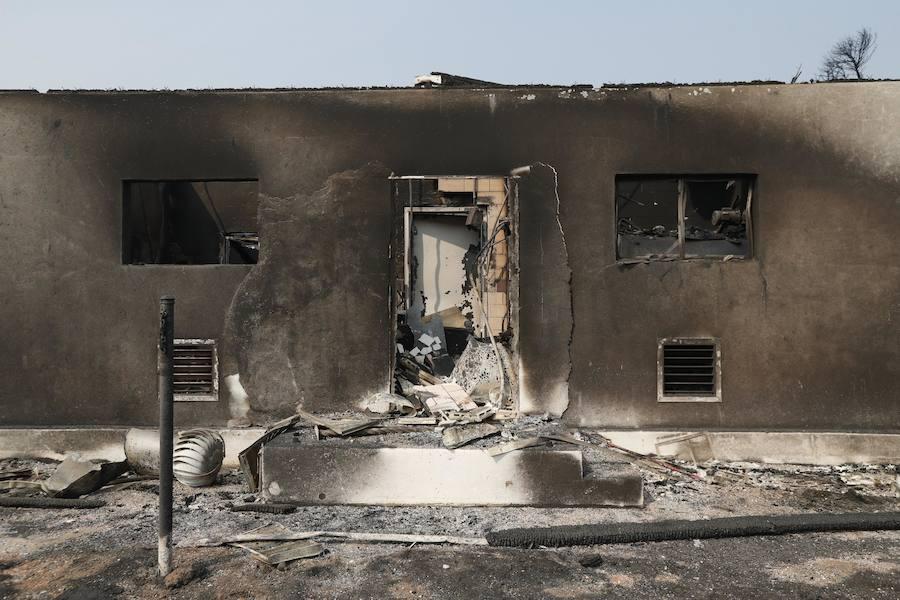 Fotos de los incendios en California