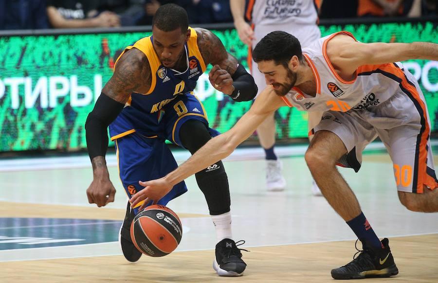 Fotos del Khimki Moscú - Valencia Basket