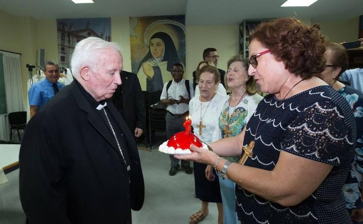 Fotos de la celebración del 72 cumpleaños del cardenal Cañizares
