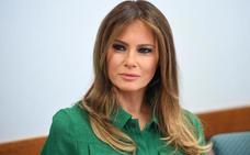 ¿Está usando Melania Trump una doble?