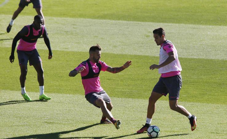 Fotos del entrenamiento del Levante UD (20/10/2017)