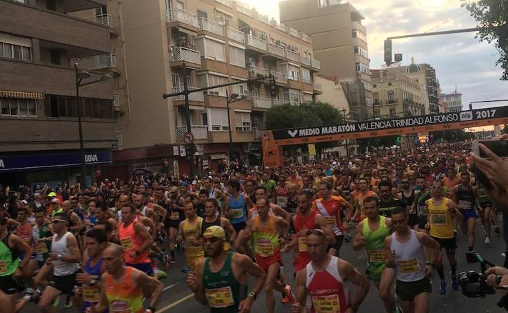 Fotos de la Media Maratón de Valencia 2017