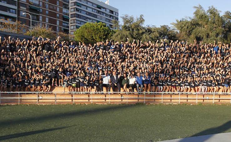 Fotos de la presentación de los equipos de atletismo de Valencia Esports