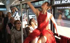 Danza en un autobús de la EMT