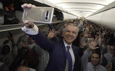 Sorpresa a bordo para los pasajeros de un vuelo nacional de Iberia
