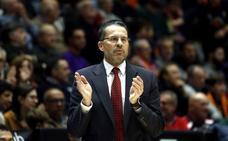 Pedro Martínez, entrenador del Baskonia