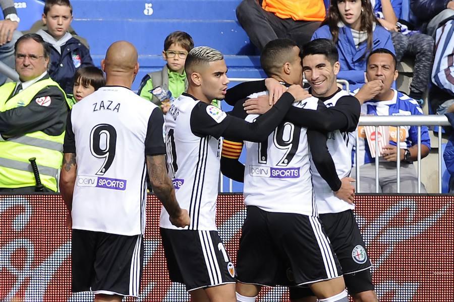 Fotos del Alavés-Valencia CF