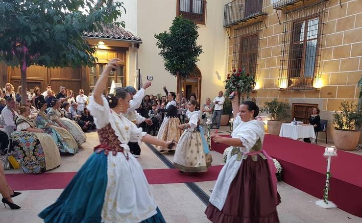 Fotos del acto de certificación de seda valenciana