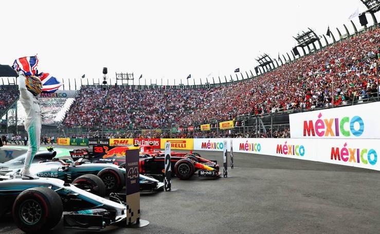 Las mejores imágenes del GP de México