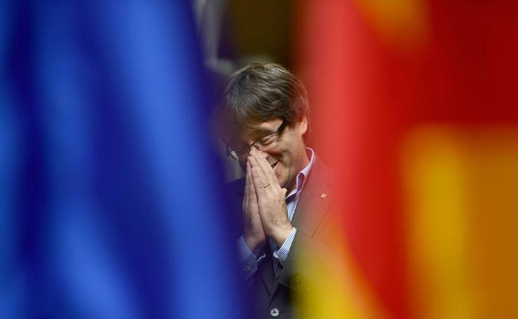La declaración de independencia y referéndum en Cataluña en imágenes: del 1 de octubre hasta hoy