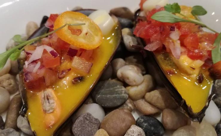 Fotos de los nuevos platos de las barras de Quique Dacosta