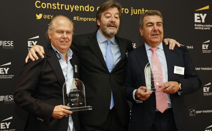 Fotos de la proclamación de candidatos al premio emprendedores Ernst & Young