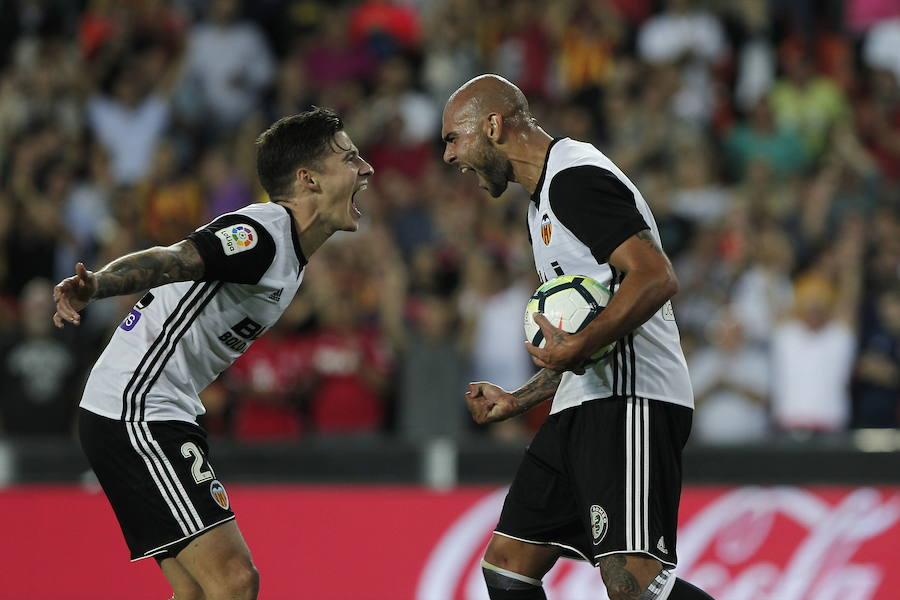 Fotos de la racha de victorias del Valencia CF
