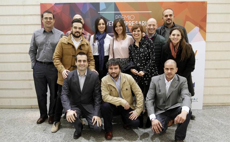 Fotos de la gala del Premio Joven Empresario 2017 en Valencia