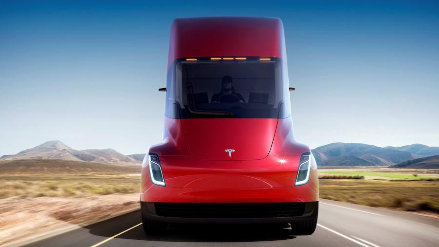 Fotos de los camiones de Tesla