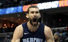 Los Blazers agudizan la crisis de los Grizzlies de Marc Gasol