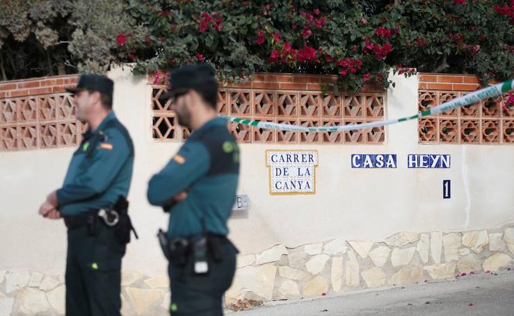 Fotos del crimen machista en Vinaròs