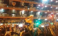 Ambientazo en Mestalla