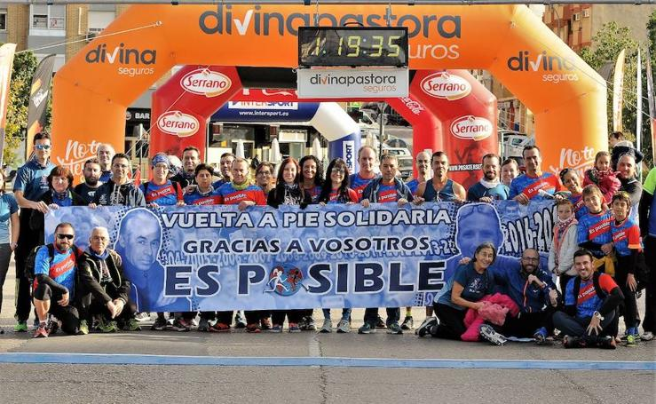 Fotos de la Volta a Peu Es Posible 2017 en Valencia