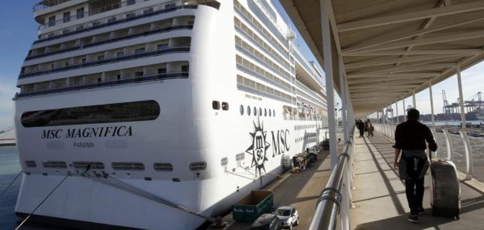 MSC Cruceros aumentará sus escalas en el Puerto y prevé incrementar un 20% el número de pasajeros